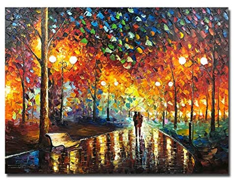 V-inspire Art,30x40 inch Abstract Art Landscape Oil Painting On Canvas Contemporary Art Wall Paintings Handmade Painting Home Decorations Canvas Wall Art Painting Ready to Hang